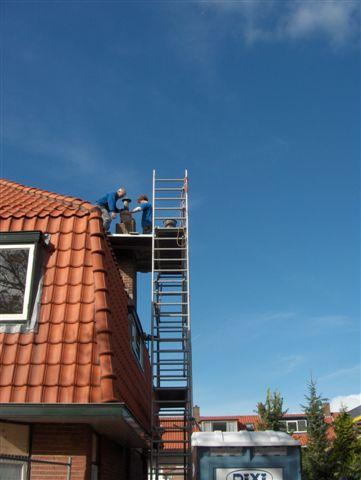 restauratie van schoorstenen