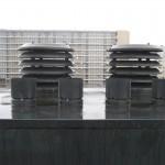 Overzetschoorstenen geplaatst door Schmidt Schoorsteenwerken